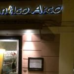 アンティコ・アルコ(Antico Arco a Roma):ローマのおいしいレストラン