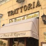 ブーカディリペッタ(Buca di ripetta a Roma):ローマのおいしいレストラン