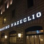 マッシモダゼリオ(Massimo D'azeglio a Roma):ローマの駅近のいいホテル