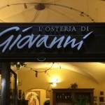 ジョバンニ(Giovanni a Firenze):フィレンツェのおいしいレストラン