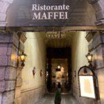 マッフェイ(Maffei a Verona):ヴェローナのおいしいレストラン