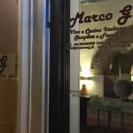 マルコG (Marco G a Roma):ローマのおいしいレストラン