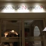 ヌーメリ・プリミ(Numeri Primi a Roma):ローマのおいしいレストラン